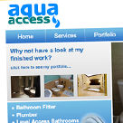 Aqua Access website