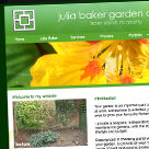 Julia Baker Garden Design website