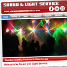 Sound and Light Service website