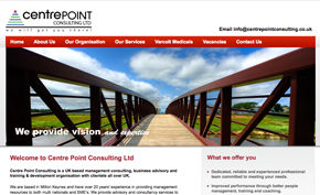 Centrepoint Consulting website