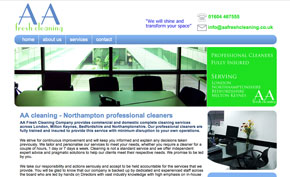 AA Fresh Clean website