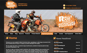 Rally-Raid Products website